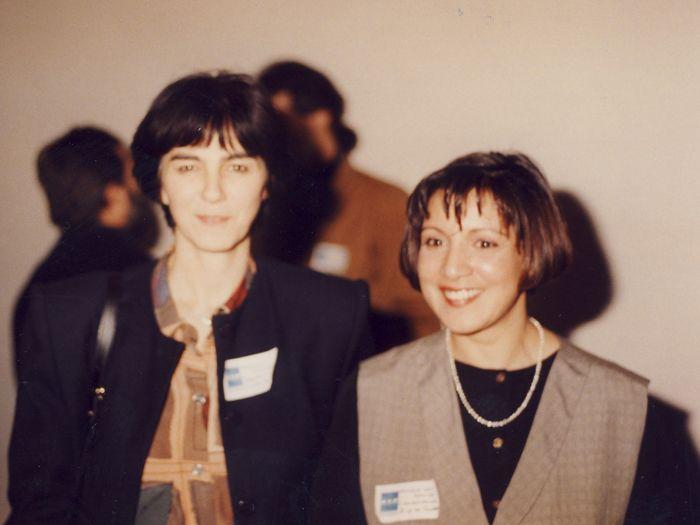 Christiane Gagnon, députée fédérale de Québec et Hamida Hassein-Bey, directrice de ZIP QCH