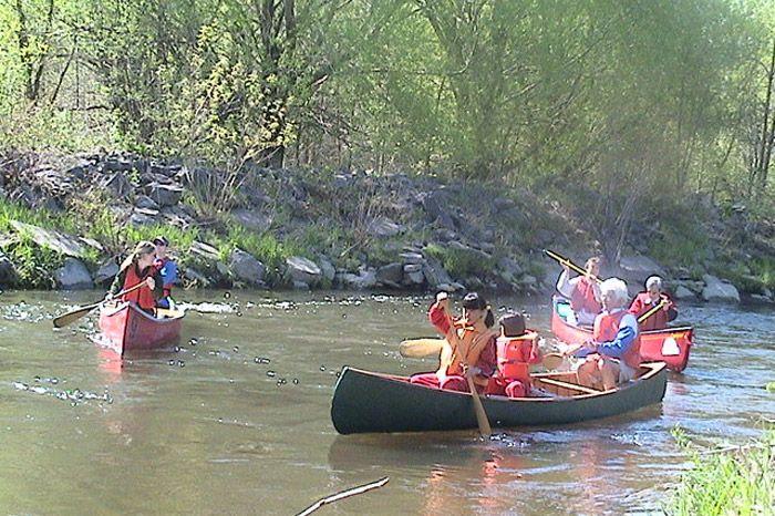 Descente en canots de la rivière Saint-Charles 2004 - 01