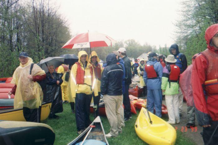 Descente en canots de la rivière Saint-Charles 2005