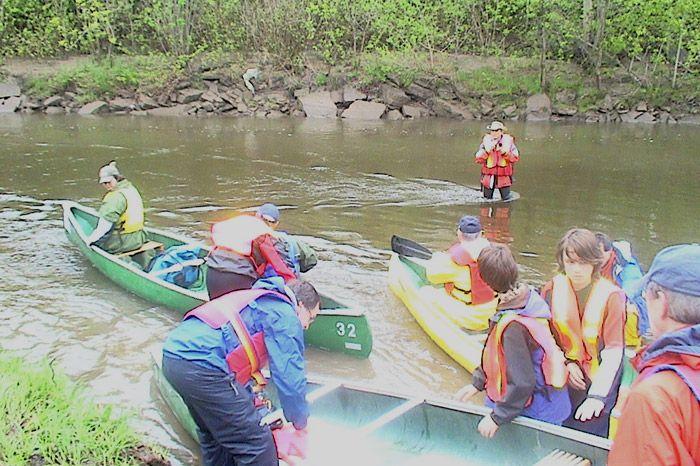 Descente en canots de la rivière Saint-Charles 2006 - 02